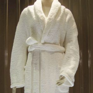 100% Cotton Hotel Bathrobe pictures & photos