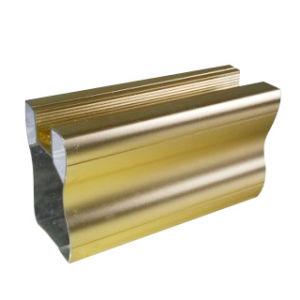 Anodize Golden Aluminium for Decoration Materail pictures & photos