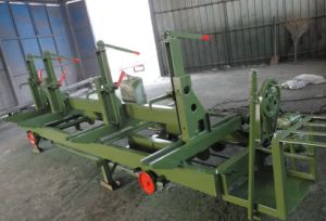 Manual Log Carriage with Band Saw pictures & photos