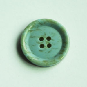 High Quality Fashion Polyester Resin Button with Special Rim Effect pictures & photos