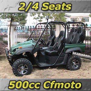 Upgraded 500CC Cfmoto-Powered CVT 4x4 UTV - 2 Rear Seats Optional (UT500-2)