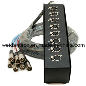 Weidan PRO Audio 8 Channel XLR Stage Box 20′ Ft pictures & photos