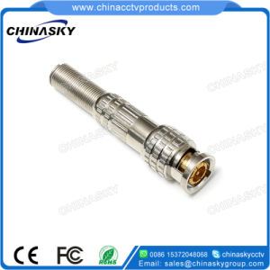 CCTV Male Solderless BNC Plug with Long Metal Boot (CT5046-3) pictures & photos