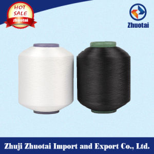 Factory Price 4075 Scy Polyester Yarn Spandex Coverd Yarn for Weaving Sell pictures & photos