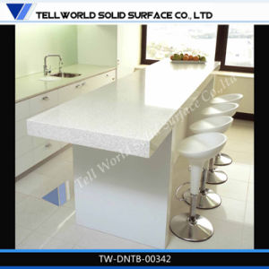 Modern Kitchen Table, Kitchen Bench Artificial Marble Top Table pictures & photos
