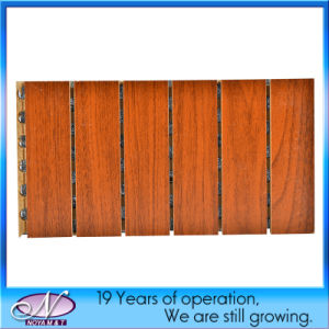 Acoustic Soundproofing Wooden Board Panel for Ceiling/Wall Decorative pictures & photos