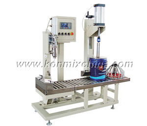 Coating/Paint Semi-Automatic Filling Machine pictures & photos