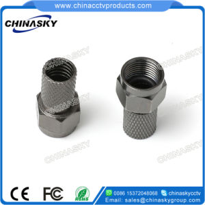 CCTV Coaxial Twist-on F Male Connector for Security Camera (CT5076) pictures & photos