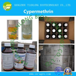 Cypermethrin (95%TC, 5%EC, 10%EC, 20%EC, 25%EC, 5%ME, 10%EW, 10%WP) pictures & photos