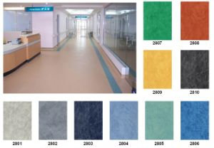 PVC Laminate Flooring Roll Fire Resistance pictures & photos