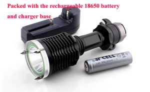 Mag Switch 900 Lumens Xml-T6 LED Diving Flashlight pictures & photos