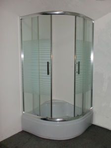 Corner Bathroom Design 90X90 Simple Economic Shower Cabin pictures & photos
