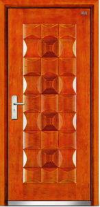 Steel Wooden Door (LT-302) pictures & photos