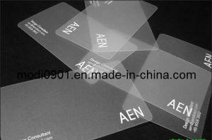 Transparent Plastic Card pictures & photos
