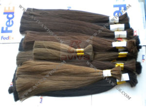 100% Virgin Remy Bulk Human Hair Extension pictures & photos