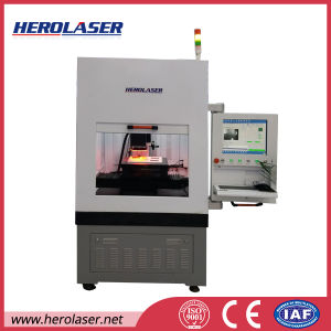 CCD Visual Alignment Automatic Positioning 50W Ipg Laser Marking Machine Sales in USA pictures & photos
