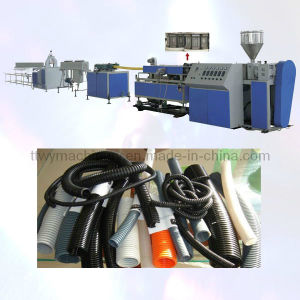 PE/PP/PVC Single Wall Corrugated Pipe Production Line Plastic Machine (Sg-9/32/65 pictures & photos