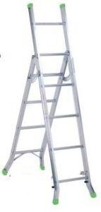 Smart Design 10 Steps Aluminum Multi-Purpose Ladder pictures & photos
