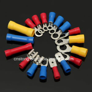 Spade Furcate Type Pre-Insulating Crimp Terminal Cable Lug pictures & photos