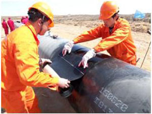 3PE Pipe Corrosion Protection Tape Sleeve pictures & photos