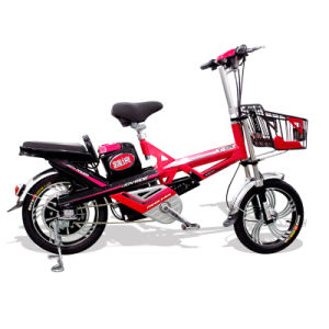 Full Aluminium Handle and Shock Absorber E-Bicycle