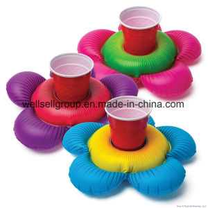 Flower Beverage Boat Inflatable Cup Drink Can (CPCQ-005) pictures & photos
