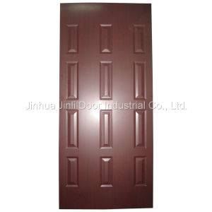 Melamine Door Skin (0814-10(Mahogany)