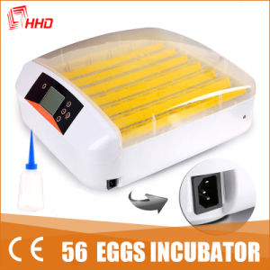 Hhd LED Light Automatic Mini Chicken Incubator for 56 Eggs pictures & photos