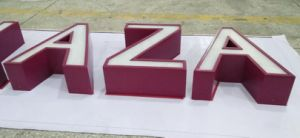 High Quality Long Period Wall-Mounted Fabricated Advertising LED Channel Letter pictures & photos