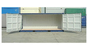 20′ Standard W/Side Doors Container pictures & photos