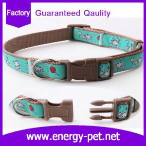 Custom Pattern Dog Accessories Nylon Print Pet Collar