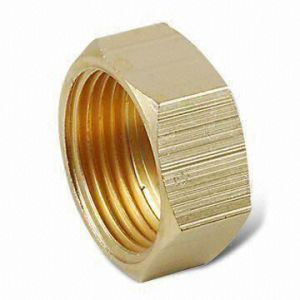 CNC Machined Brass Nuts for Equipments pictures & photos