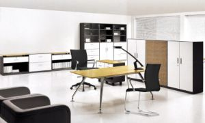 MFC Wooden Furniture Manager Table Office Table (DA-144)