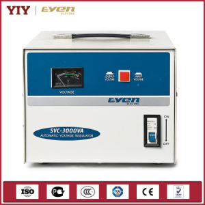 Yiy Economy Single Phase AVR Air Conditioner Voltage Stabilizer Analog Display pictures & photos