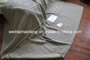 100% Pure New Virgin Wool Blanket (NMQ-WB031) pictures & photos