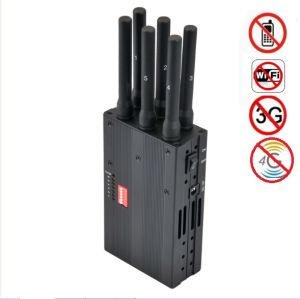 New Handheld 6 Bands 3G 4G Phone Jammer Lojack Jammer GPS Jammer WiFi Jammer pictures & photos