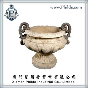 Resin Garden Pot Garden Planter, Garden Decoration (GD-PP-0340)