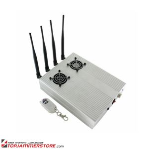 New Style High Power CDMA 3G GSM Blocker Desktop Cell Phone Jammer - with 2 Cooler Fans pictures & photos