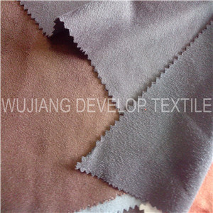 Polyester Micro Fiber Suede Fabric for Sofa Fabric (DT2019)