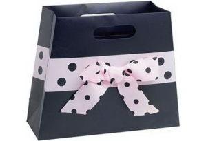 Nice Design Elegant Black Colour Paper Gift Bag (YY-B0096) pictures & photos