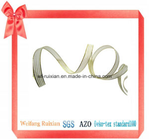 3 Gold Line Organza Ribbon for Deration Packing and Garments