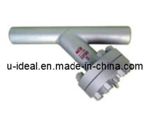 Female Threaded and Socket Welded Y-Shaped Filter-Water Strainer pictures & photos