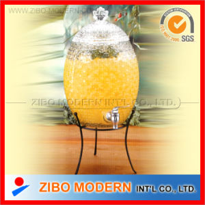 Wholesale Glass Water Juice Dispenser with Tap pictures & photos