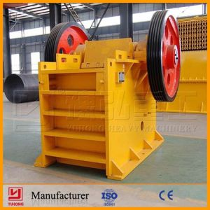 China Yuhong ISO9001 & CE Approved Jaw Crusher Machine pictures & photos