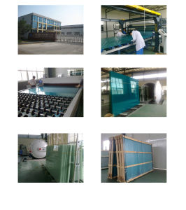 4.38-20.38mm Milky White PVB Laminated Glass pictures & photos
