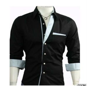 New Fashion Men′s Casual Long Sleeve Dress Shirt pictures & photos