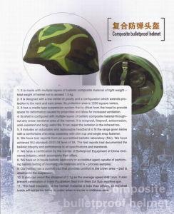 Composite Bulletproof Helmet (JFKDK-01)