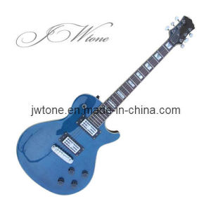Trans Blue Flamed Maple Top Electric Guitar pictures & photos