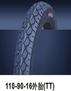 Motorcycle Tyre (110/90-16) pictures & photos