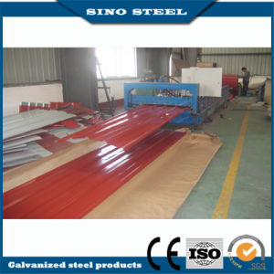Dx51d Color Coated Steel Coil for Trapezoid Type Roofing pictures & photos